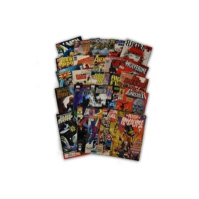 25 Comic Book bundle lot Random Marvel Superhero Comic Collection