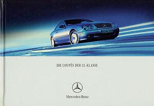 Mercedes-CL-Prospekt-2001-8-01-brochure-prospectus-catalogus-CL-500-600-55-AMG