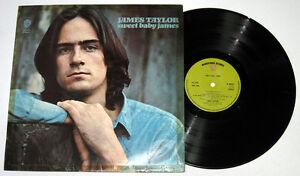 UK-Pressing-JAMES-TAYLOR-Sweet-Baby-James-LP-Record