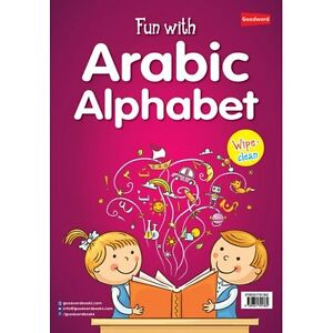 Fun with Arabic Alphabet (Fun Activities for Kids) (Colour PB) (Wipe Clean) 9789351791362