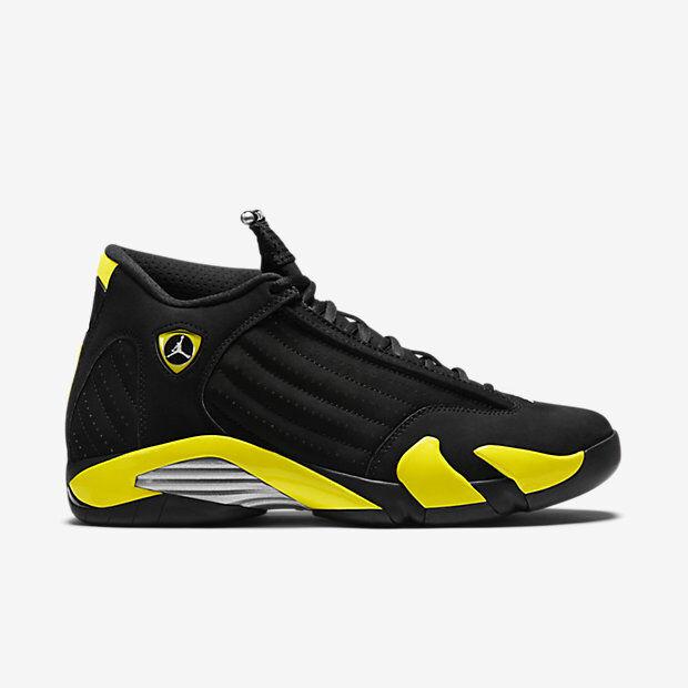 Nike Nike Nike air jordan 14 xiv retrò thunder dimensioni 9.5.487471-070.1 2 3 4 5 6 f9bbbf