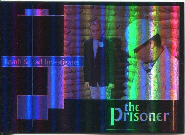 The Prisoner Volume 2 Dirty Tricks Foil Chase Card PDT4