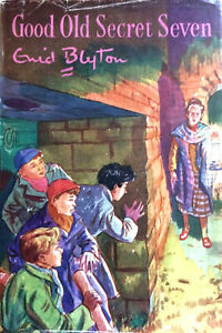 ENID-BLYTON-GOOD-OLD-SECRET-SEVEN-1ST-FIRST-EDITION-1960-WITH-DW-DJ