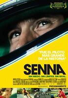 Senna International Movie Mini Poster 11inx17in (28cm X43cm) Ayrton Senna