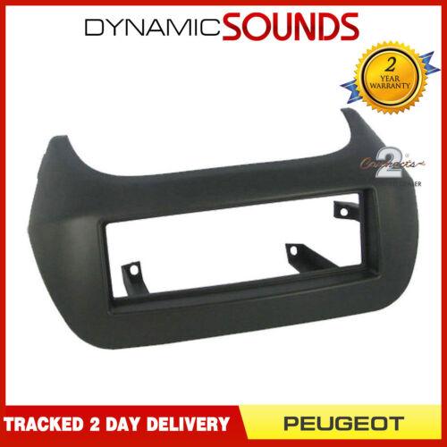 CT24PE18 Black Car Stereo Single Din Fascia Adaptor For Peugeot Bipper 2008 On