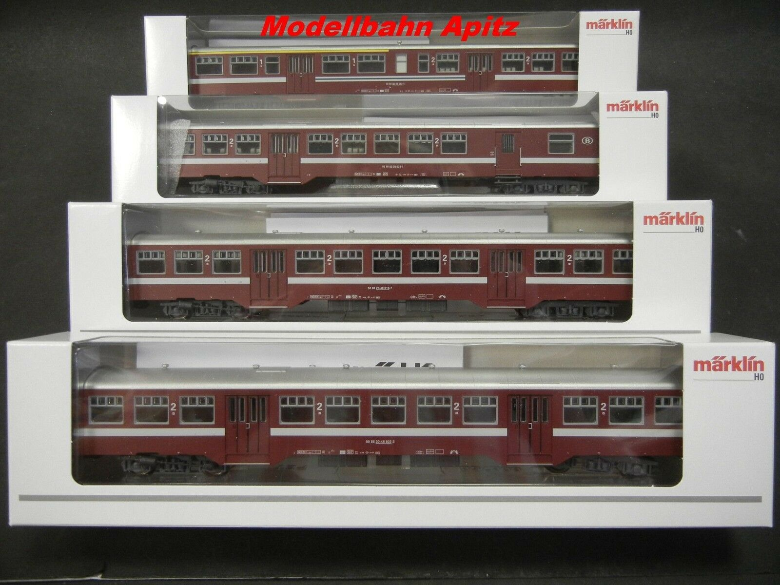 h0 art. 43545 trasporti urbani Wagenset delle SNCB/NMBS Merce Nuova