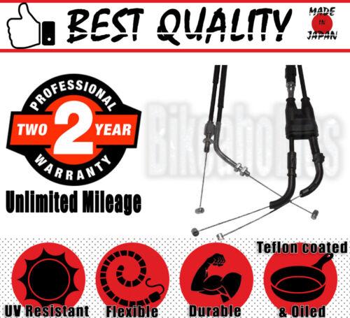 Yamaha YZF-R1 1000-2003 Premium Quality Throttle Cable Set