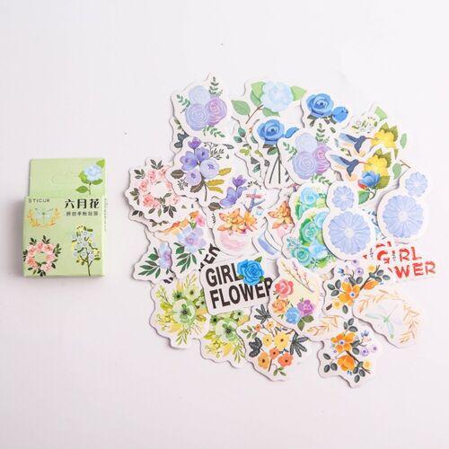 40 Pcs Cute Paper Sticker DIY Diary Album Scrapbooking Christmas Stickers Decor