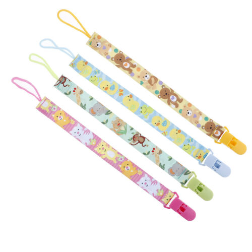 1Pc Newborn baby pacifier clips chain strap soother dummy nipple holder YJ