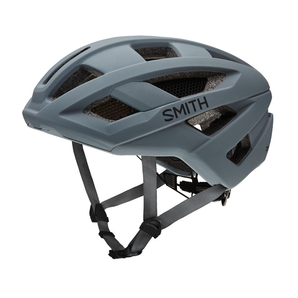 Smith Route Mips Cicislmo da Strada Caschetto Ciclista Opaca Carbone S M L Nuovo