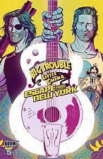 Big Trouble Little China Escape New York #5 Wraparound Cover Comic Book 2017