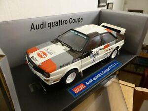 Sunstar 1/18 - 4181 Audi Quattro Coupe 1981 Rallye Lombard Rac Mikkola / Hertz