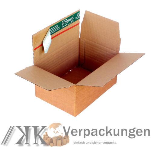 229x164x50-115 mm Faltkisten variable Füllhöhe 100 Fix-Aufrichtekartons DIN A5