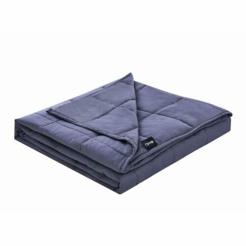 Zonli Weighted Blanket 20 Lbs For Adults About 180-220 Lbs60/'/'X80/'/' GreyP