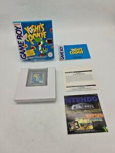 NEUF YOSHI'S COOKIE OVP Nintendo Gameboy Game boy Boxed boite DMG-CI-FAH