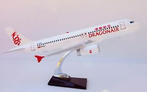DRAGON-AIR-LARGE-DISPLAY-PLANE-MODEL-AIRPLANE-APX-45cm-SOLID-RESIN