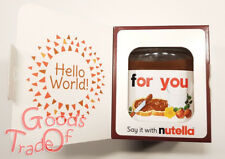 NUTELLA / Hello World / For You / 350g Limitierte Edt. / Geschenk / NEU & OVP