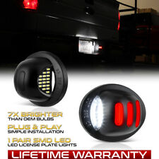 [EXCLUSIVE] 1990-2014 Ford F150 Red Neon Tube LED License Plate Tag Light Pair