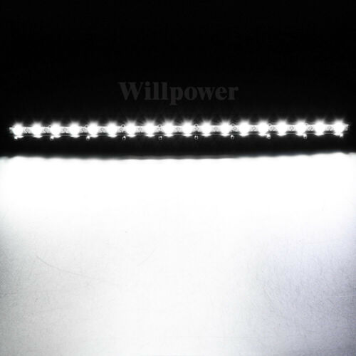 2Pcs 20inch 90W Spot LED Work Light Bar Single Row for Car SUV Jeep 4WD Off road
