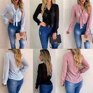 Women-summer-shirt-T-shirt-new-floral-fashion-blouse-tops-long-sleeve-chiffon