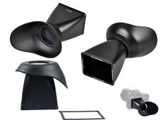 LCD V2 Viewfinder 2.8X Magnifier Extender Eyecup for Canon 5DIII 550D Nikon D90