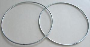 2-x-12-034-Strong-Metal-Dreamcatcher-Macrame-Craft-Hoop-Ring-amp-Free-Cotton-Cord