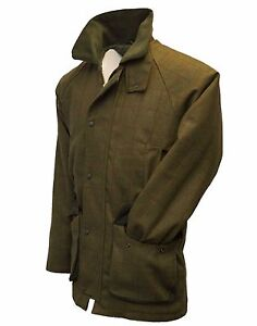 Walker /& HAWKES da Uomo Derby Tweed Shooting Caccia Country Giacca Cappotto Red Stripe