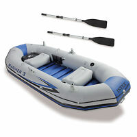 Intex Mariner 3-person Inflatable River/lake Dinghy Boat & Oars Set | 68373ep on sale
