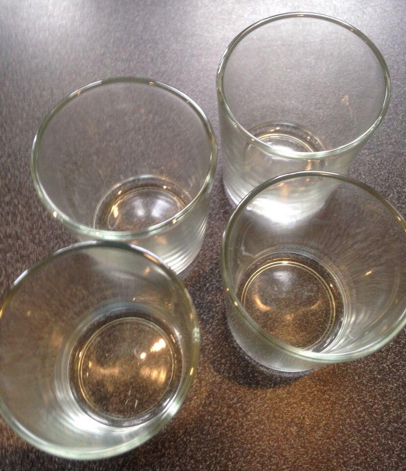 Glas, 4 X STORE SHOT GLAS