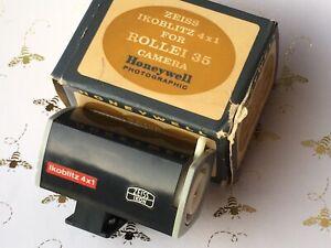 Rollei-35-HONEYWELL-Flash-Cube-Holder-Zeiss-Ikoblitz-4x1-Very-Rare-Working