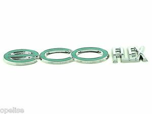 Genuine-New-VAUXHALL-ECO-FLEX-BADGE-Opel-Corsa-D-2006-amp-Astra-H-2004-09-Agila-B