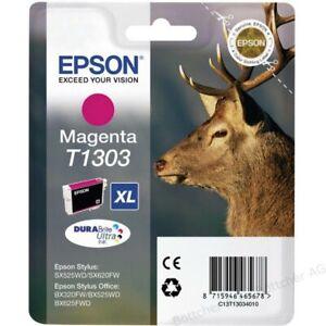 Original-Epson-T1303-Magenta-Stag-Office-BX320-BX525-BX625-B42-Boxed-08-2018