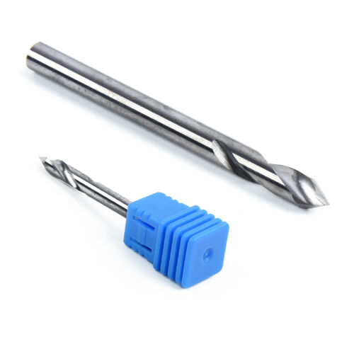 60° Degree 3-Flutes V Groove Solid Carbide Chamfer End Mill Cutter Shank CNC Bit