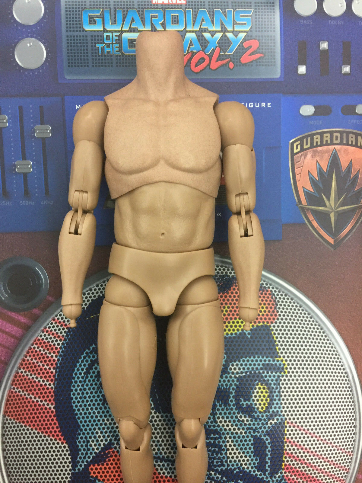 Hot Toys Galaxy des gardiens STAR LORD Deluxe MMS421-échelle 1 6 nude body