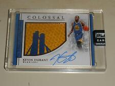 2016-17 National Treasures Colossal Prime PATCH Auto Kevin Durant 03/25