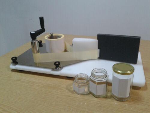 Manuelle Etikettiermaschine für Dosen