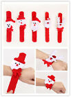 Wholesale Xmas Gift Red Slap Bangle Bracelet Christmas Ornament Party Decoration