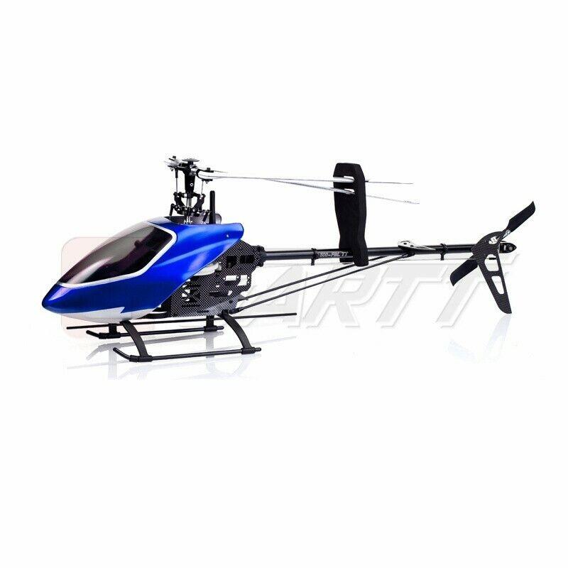 GARTT 500 FBLTT 2.4GHz 6Ch flybaless Tubo de torsión RC Helicóptero Align Trex Nuevo