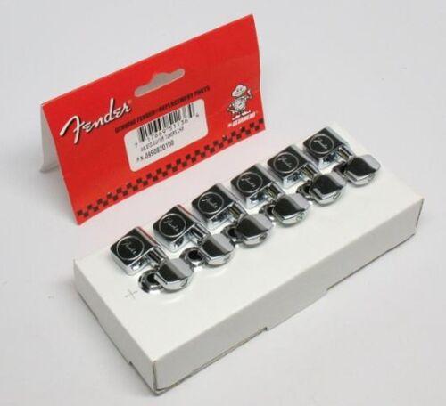 tele... NEW Mécaniques FENDER USA  6 en ligne 0990820100 pour guitare strat