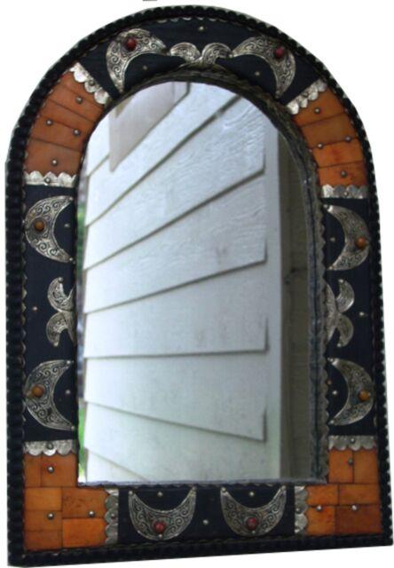 Genuine Moroccan Handmade Mirror camel bone decorated #701 GREAT GIFT IDEA