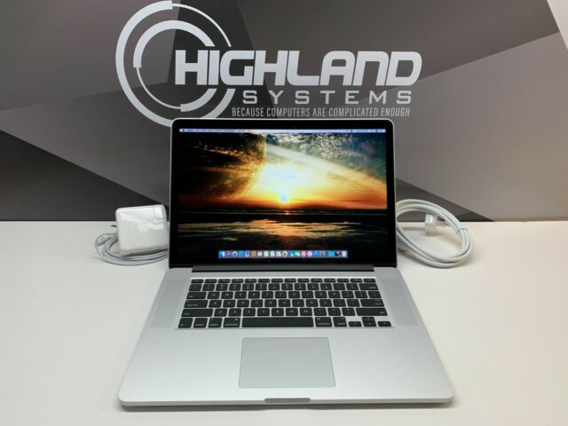 Apple MacBook Pro 15 inch Retina / QUAD Core i7 3.4Ghz / 16GB RAM / 1TB SSD