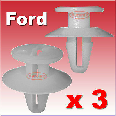 FORD FOCUS C-MAX C MAX CMAX DOOR TRIM PANEL RETAINER CLIPS x10 NEW PIECES