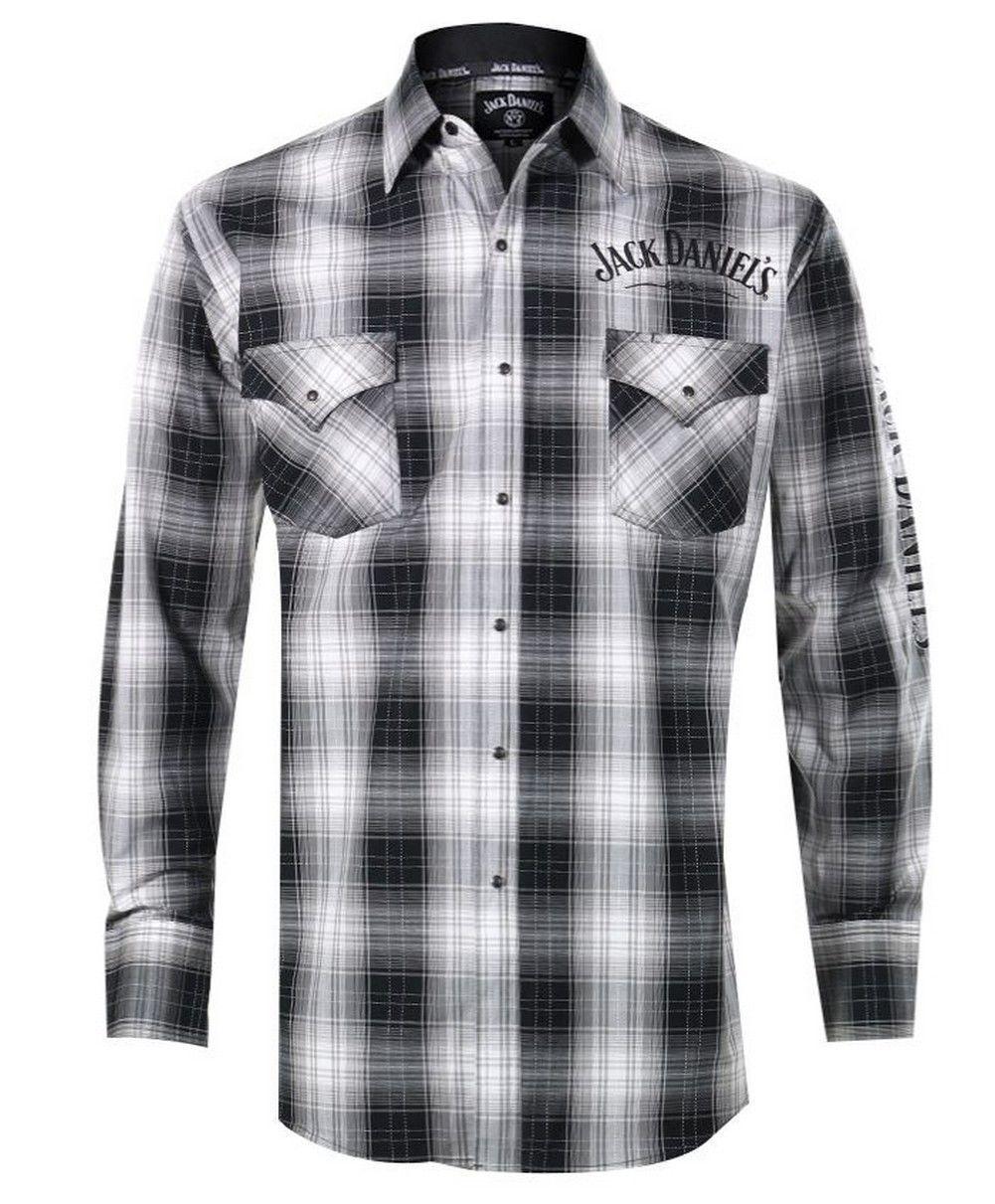 Jack Daniels Camicia Western Camicia Shirt