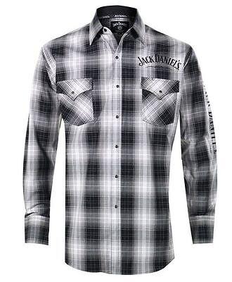 Qualificato Jack Daniels Camicia Western Camicia Shirt-mostra Il Titolo Originale