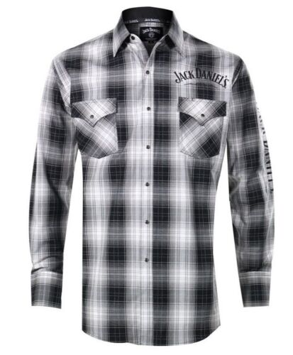 Jack Daniels Hemd Westernhemd Shirt JD89 Karriert
