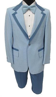 Black and White Formal Wear Retro Vintage Menswear Vintage Tuxedo Cummerbund and Bow Tie Vintage Tie 1970/'s Men/'s Clothing