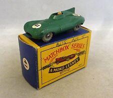 Moko Lesney Matchbox Toys MB41a Jaguar D Type