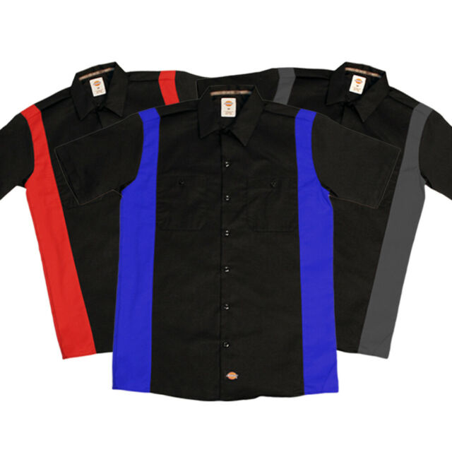 Dickies Men/'s Short-Sleeve Two-Tone Work Shirt