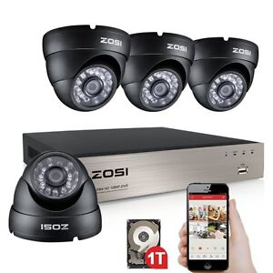 zosi 8ch 720p tvi dvr au en berwachungskamera system. Black Bedroom Furniture Sets. Home Design Ideas