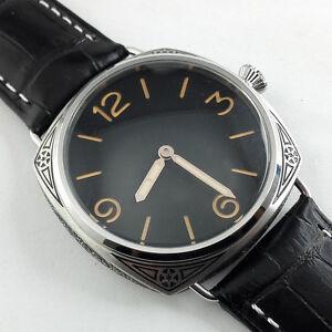 Parnis-schwarz-Zifferblatt-Carving-MILITARY-MECHANICAL-hand-winding-watch-Florenz